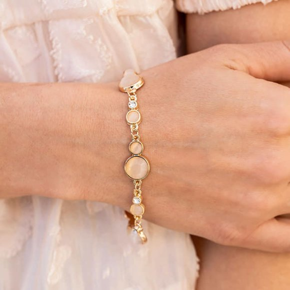 Storybook Beam Champagne Bracelet